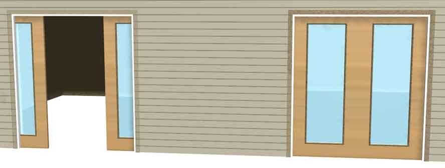 Exterior Pocket Sliding Doors